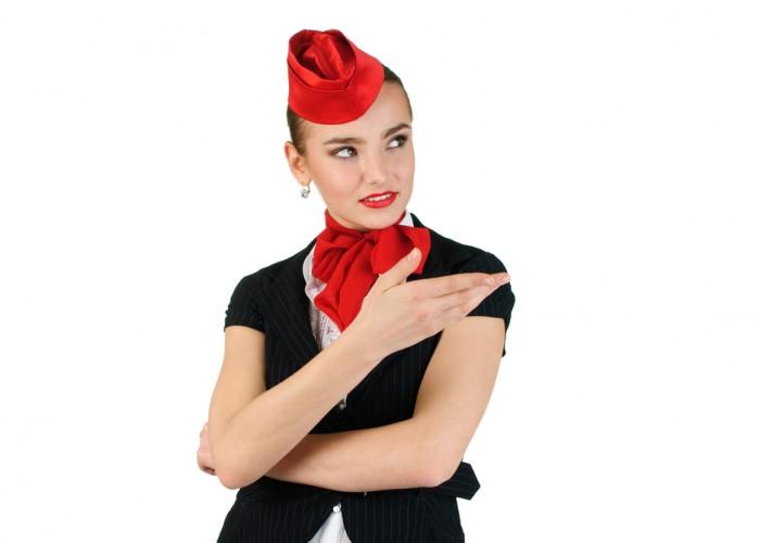 Flight Attendant Dances to 'Uptown Funk'