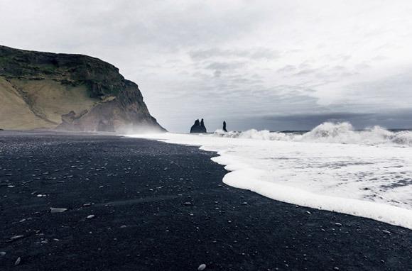 Black: Vik Beach, Vik, Iceland