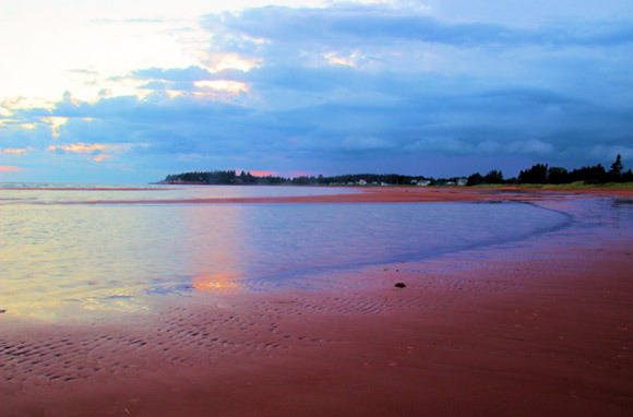 Red: Red Sands Shore, Prince Edward Island, Canada
