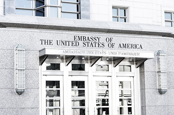 Where the Nearest Embassy Is Located