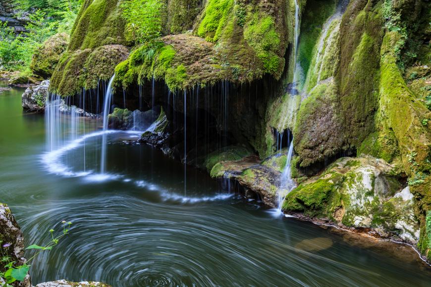 Bigar waterfall, romania
