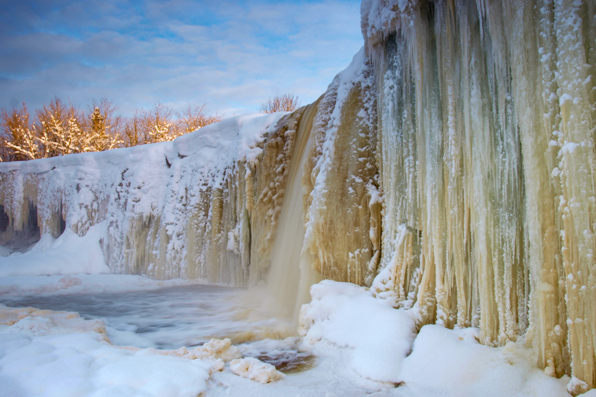 Jagala waterfall, estonia