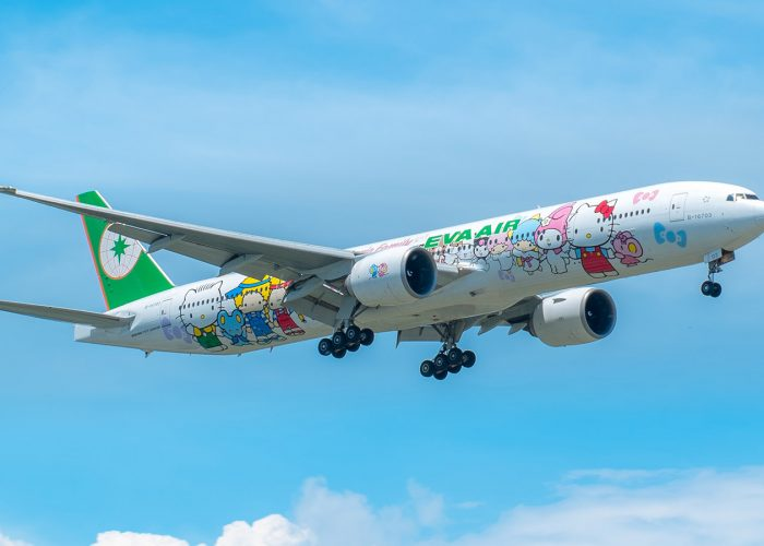 What It's Like to Fly on EVA's Hello Kitty Airplane