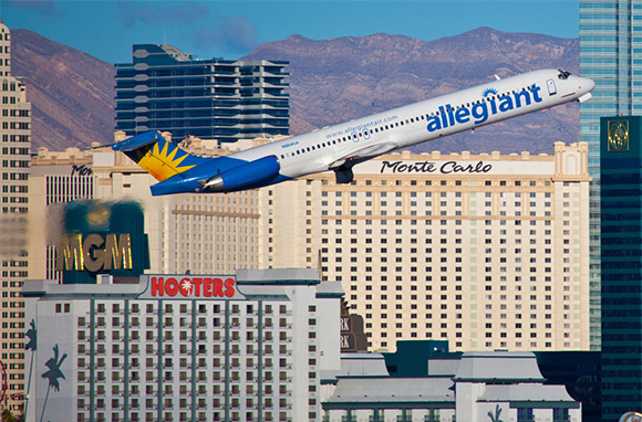 Best Ultra-Low-Fare Coach-Class Airline in North America: Allegiant