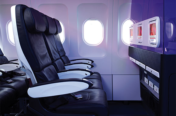 Coolest Coach-Class Airline in North America: Virgin America