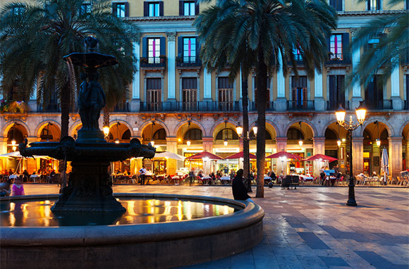 Favorite Plaza to Sit and Watch Life Go by in Barcelona