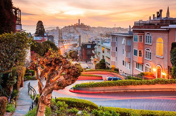 San Francisco from Burbank via Southwest