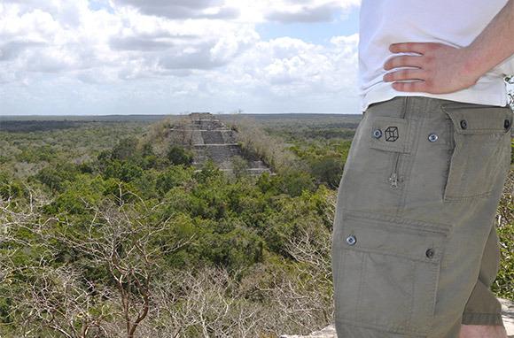 Clothing Arts Pickpocket-Proof Adventure Travel Shorts