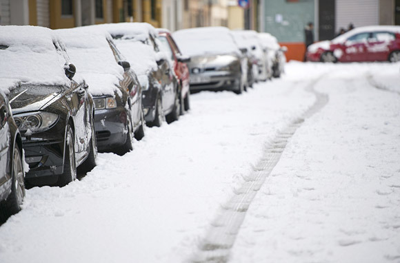 Don't Park in a Reserved Space in the Snow