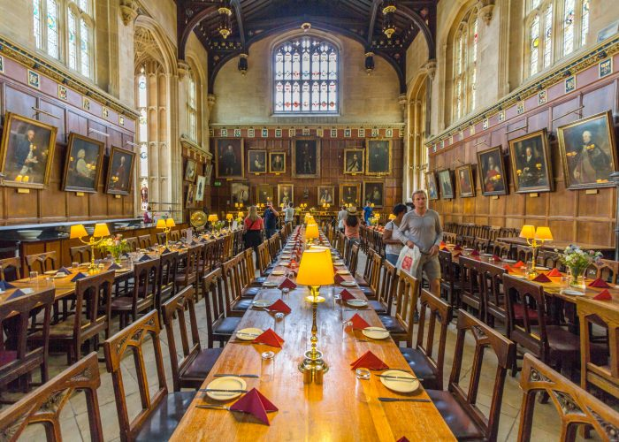 Oxford University Christ Church College Hall Harry Potter