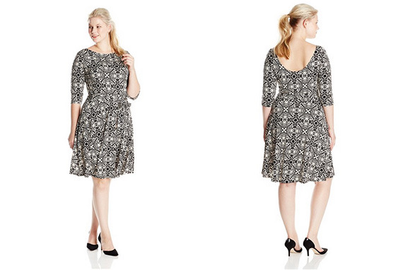 Leota Plus-Size Illana Reversible Dress