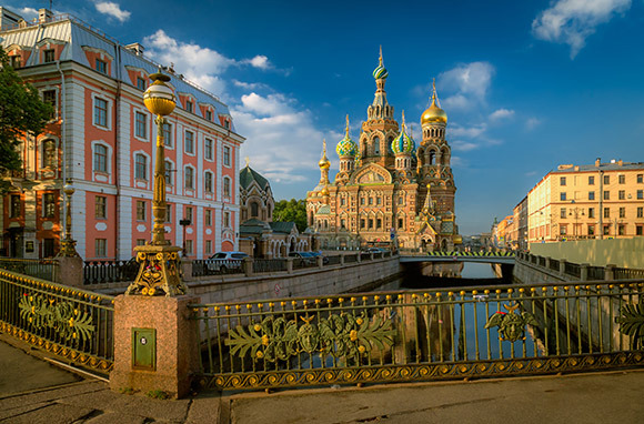 Asia: St. Petersburg, Russia