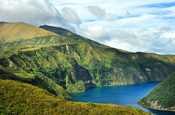 South America: Andes Mountains, Ecuador