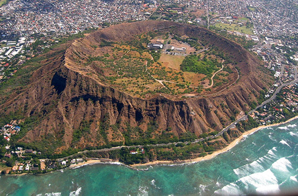 North America: Diamond Head, Hawaii, U.S.