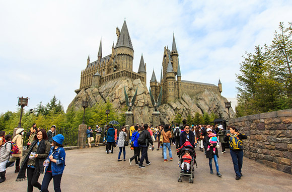 Wizarding World Of Harry Potter, Universal Studios, In Orlando, Florida And Osaka, Japan