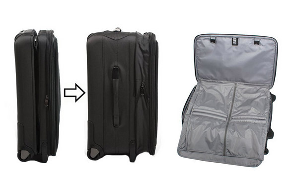 Road Warrior M-Series Collapsible Upright Suitcase