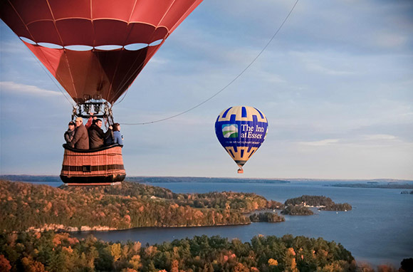 Hot Air Balloon Rides in Vermont