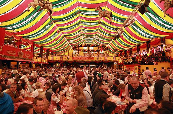 Oktoberfest In Munich, Germany