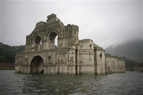 Incredible Ruins Resurface in Mexico … Literally