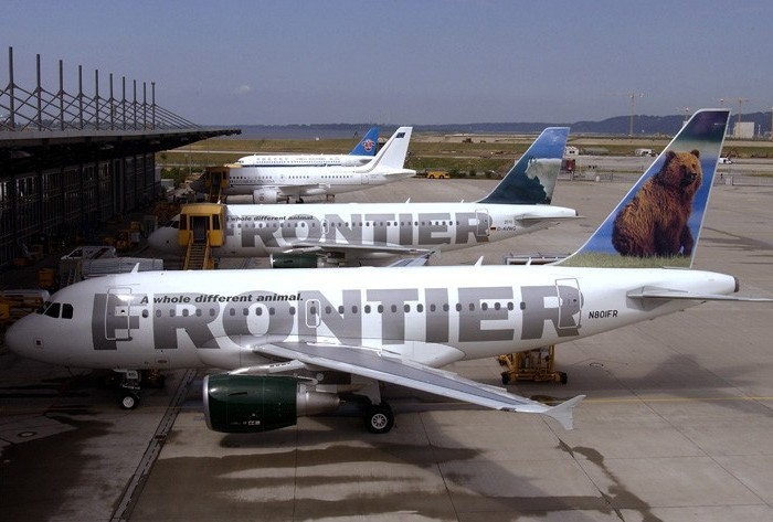 Frontier Adds $15 First-Checked-Bag Fee