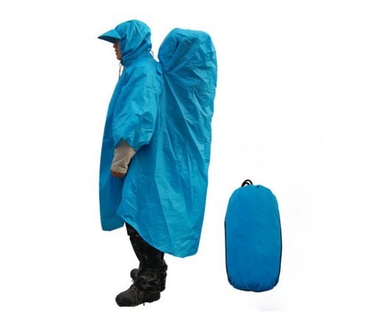 Pick of the Day: Hybrid Raincoat/Backpack Cover