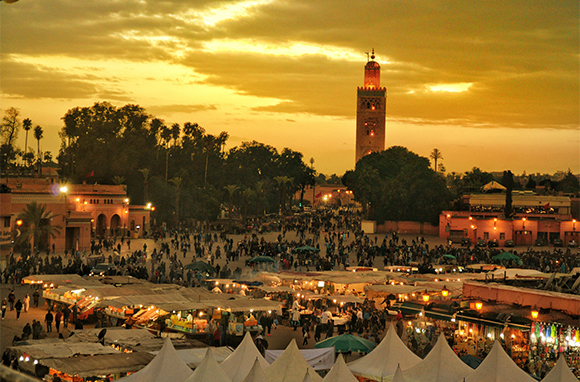 For the Exotics: Marrakesh, Morocco