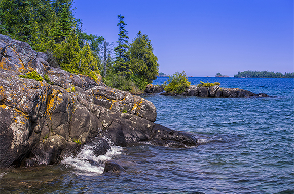 Summer: Isle Royale National Park, Michigan