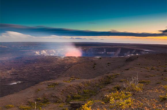 Winter: Hawaii Volcanoes National Park