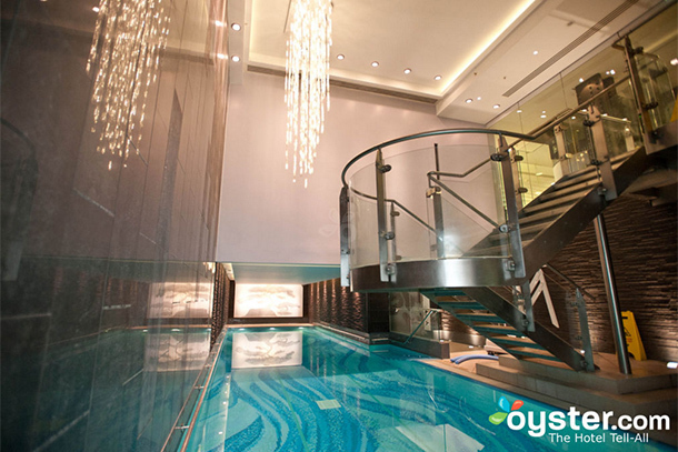 The 10 most beautiful indoor hotel pools in the world - Hotel in london with swimming pool ...