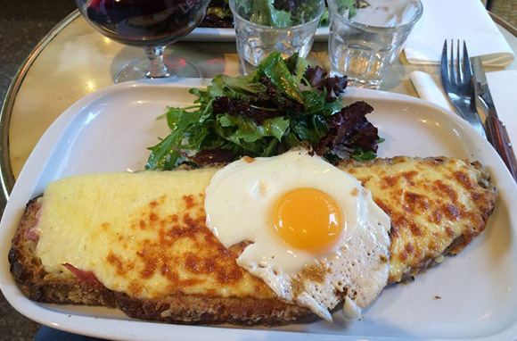 Paris: Croque Madame
