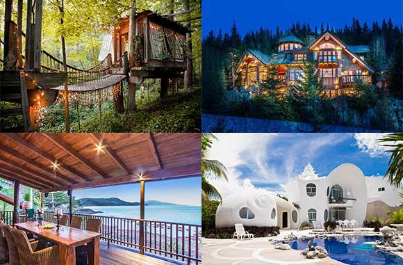 Outrageous Properties You Can Rent on Vacation