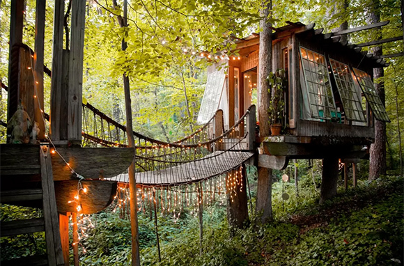 Secluded Treehouse, Atlanta, Georgia