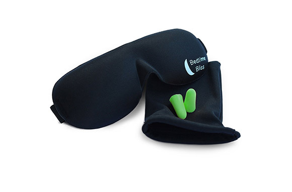 Eye Mask and Ear Plugs