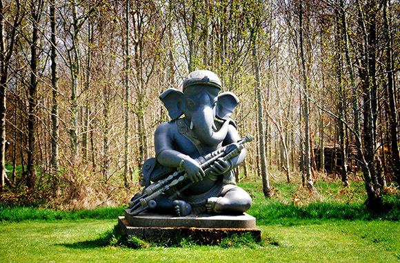 Visit an Indian Sculpture Garden