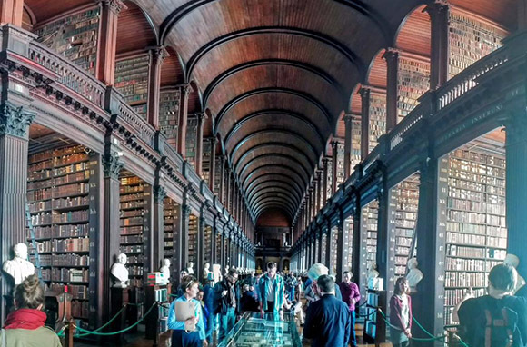 Marvel at the Book of Kells