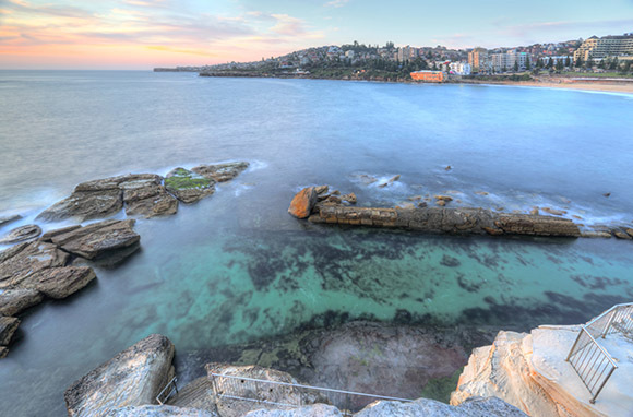 Coogee Baths, Coogee Beach