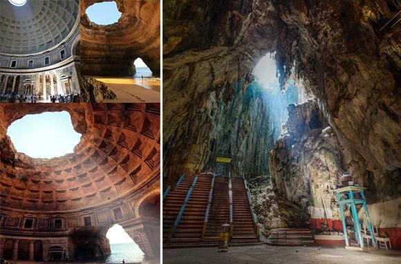 Temple of Lysistrata, Greece