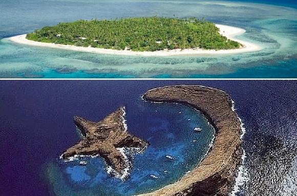 Moon and Star Island