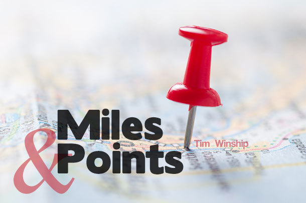 Miles & Points: The Week's Best Frequent-Flyer Deals (Week of August 14, 2015)