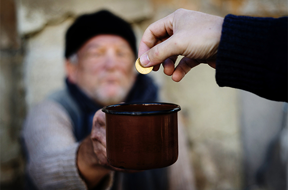 Give to Panhandlers