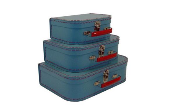 Decorative Suitcase Storage