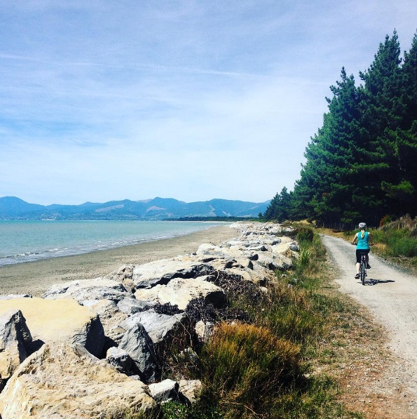 Biking in new zealand
