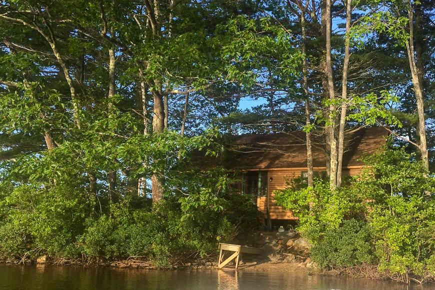Bremen, Maine island for rent