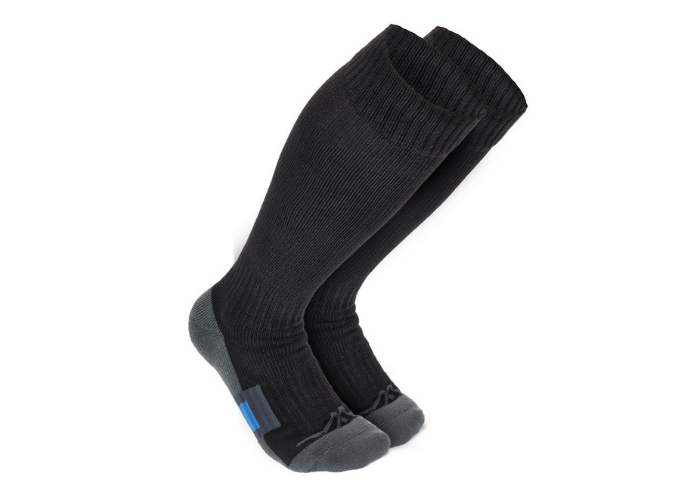 two black socks