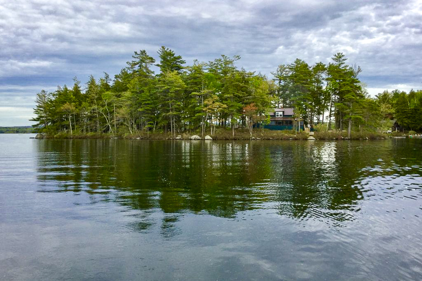 Lake Winnipesaukee, New Hampshire island for rent