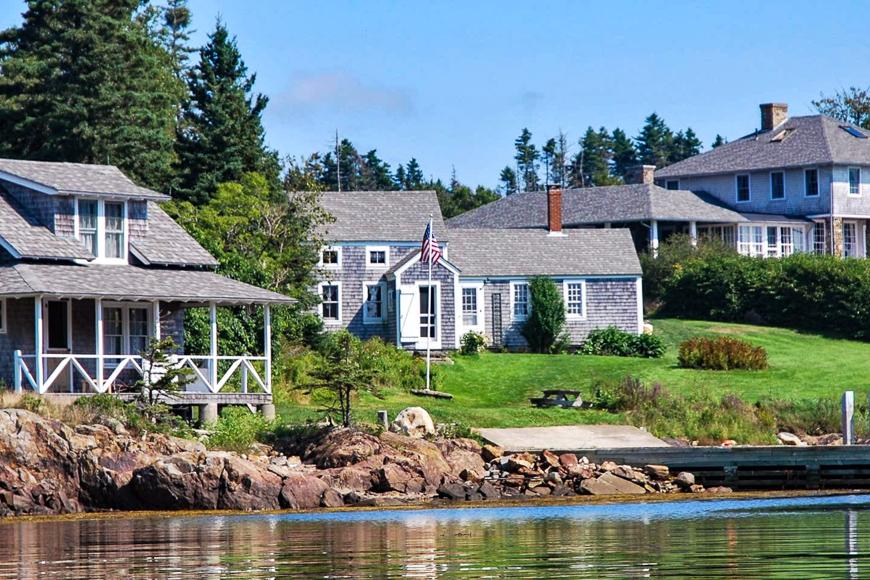 Saint George, Maine island for rent