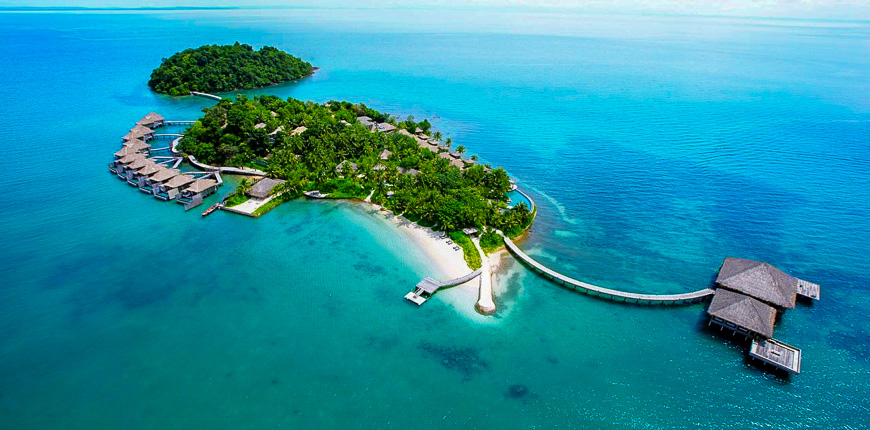 overwater bungalows song saa private island