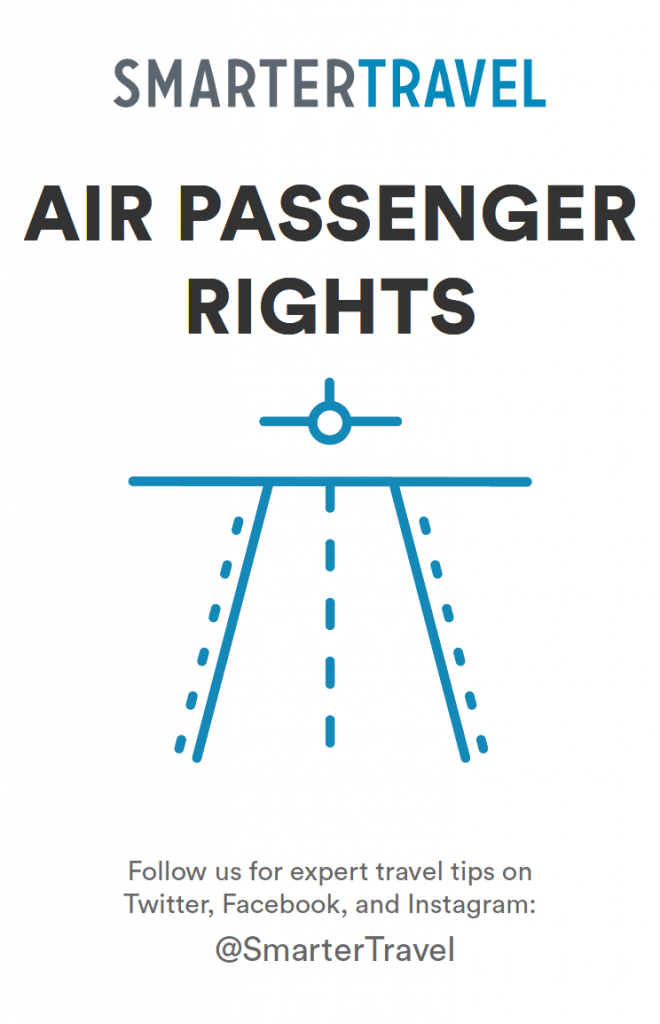 air passenger rights guide cover