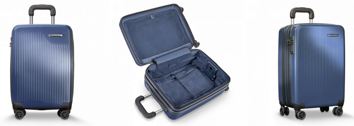 Sympatico Carry-On Review  A Spinner Suitcase That Expands by 22 ... c7b343183a