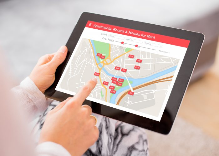 Booking Airbnb Tablet